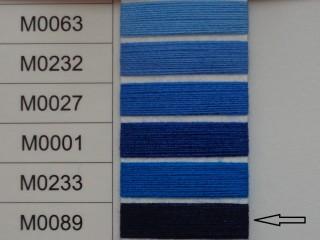 Moon cérna, s.kék, 1000y, 120-as vastagságú dobozos kiszerelésben (12304-089)