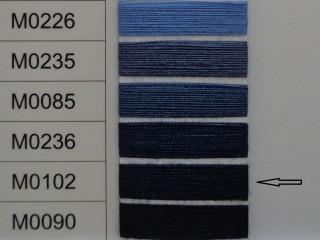 Moon cérna, s.kék, 1000y, 120-as vastagságú dobozos kiszerelésben (12305-102)
