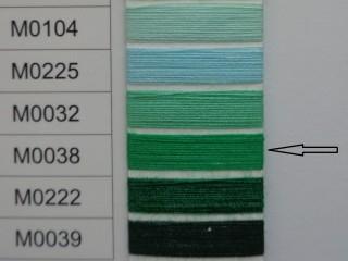 Moon cérna, zöld, 1000y, 120-as vastagságú dobozos kiszerelésben (12314-038)
