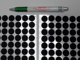 Folt tépőzár, fekete, 15 mm-es (12412)