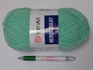 Yarn Art - Merino Bulky, menta (12543-841)