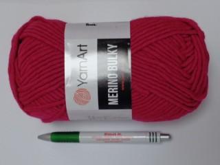 Yarn Art - Merino Bulky, magenta (12544-8041)