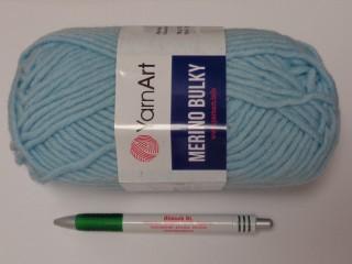 Yarn Art - Merino Bulky, világos kék (12546-215)