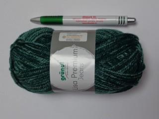 Lisa Premium Jeans, Gründl kötőfonal, zöld (12644-04)