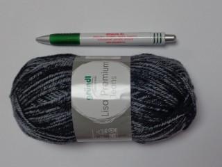 Lisa Premium Jeans, Gründl kötőfonal, szürke (12648-08)