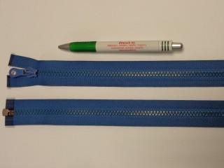 75 cm hosszú GT-10-es (P-6) vastag fogú zipzár, farmerkék (12722)