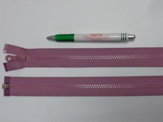 75 cm hosszú GT-10-es (P-6) vastag fogú zipzár, mályva (12729)